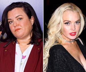 """Rosie O'Donnell: Lindsay Lohan Isn't """"Capable"""" of Playing Elizabeth Taylor"""
