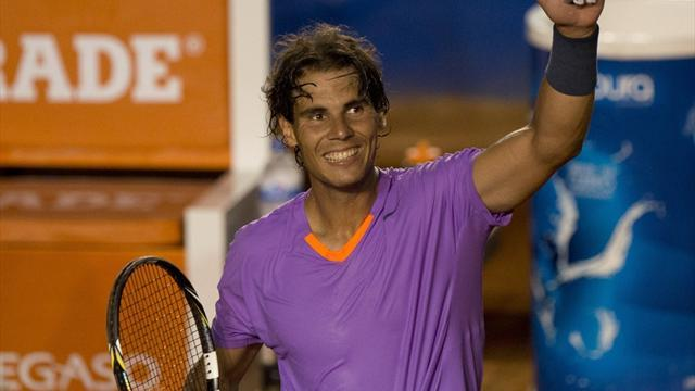 Tennis - Nadal sets up Almagro clash in Acapulco