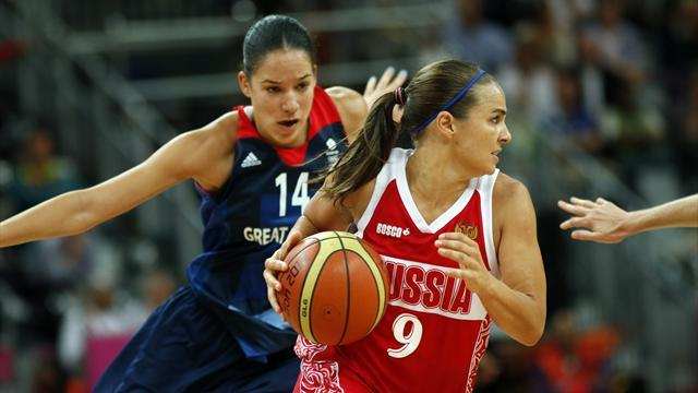 Olympic Games - GB basketball women narrowly lose to Russia
