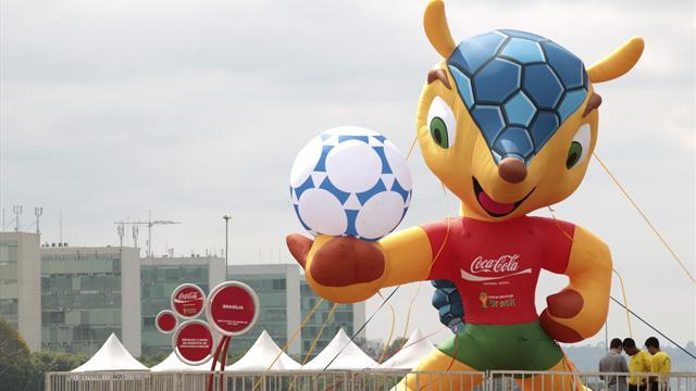 Brazilian vandals attack World Cup mascot