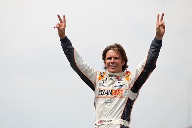 FILE: Dan Wheldon Dies In Las Vegas Indy Crash