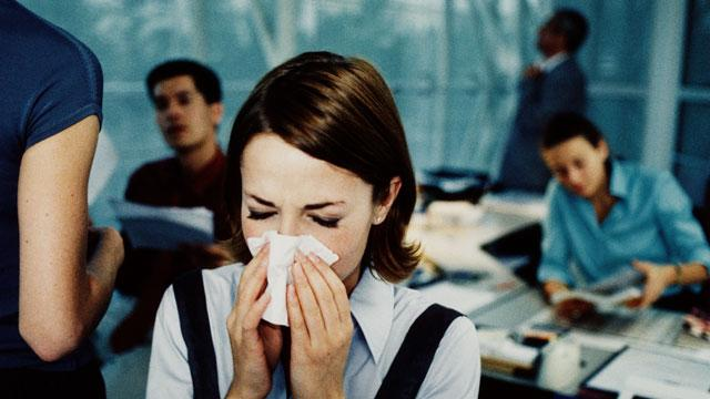 Fighting the Office Flu Epidemic