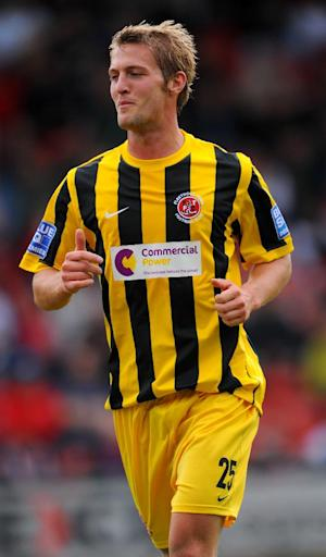 Rob Atkinson has returned to Fleetwood from his spell with Accrington