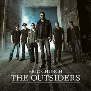 "This CD cover image released by Universal Nashville shows ""The Outsiders,"" by Eric Church. (AP Photo/Universal Nashville)"