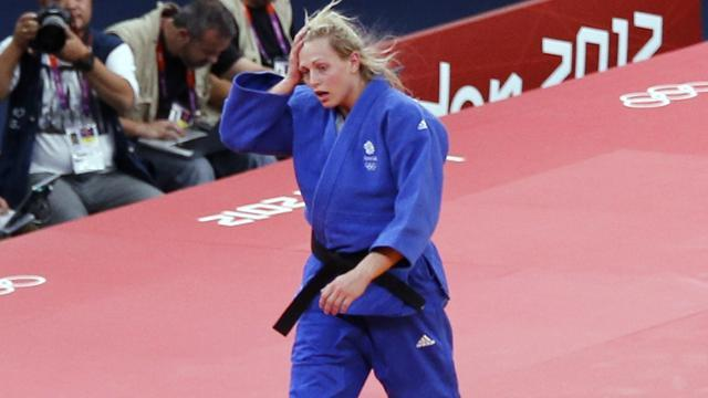 Judo - Olympic hero Gibbons disappointed at Worlds exit