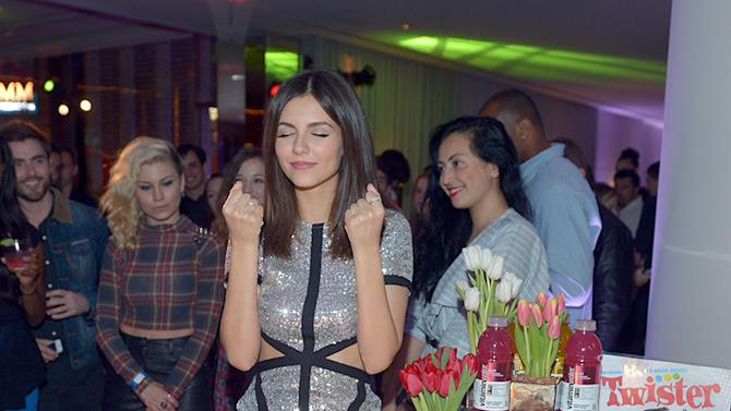 Victoria Justice Celebrates Her 20th Birthday With vitaminwater And TWISTER Rave