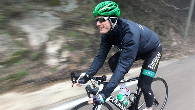 Cycling - Rolland leads Sarthe after climbing to stage four win