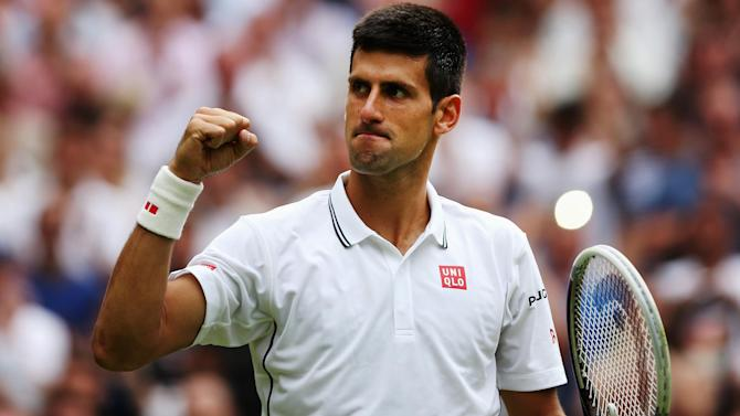 Wimbledon - Djokovic survives Stepanek test