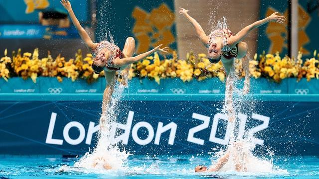 Russia top Olympic synchro scoreboard, Brits sixth