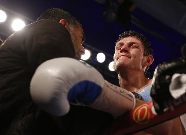 Gavin McDonnell after the fight