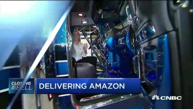 Are trucking companies threatened by Amazon?