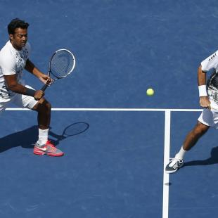 Paes and Stepanek chase U.S. Open doubles title