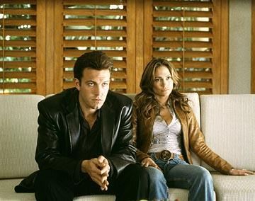 Ben Affleck and Jennifer Lopez in Columbia's Gigli