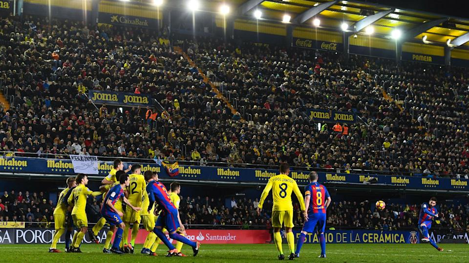 Villarreal 1 Barcelona 1: Messi rescues point with late free-kick