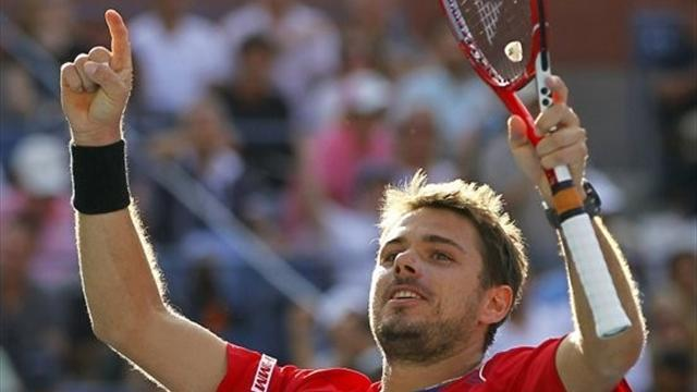 US Open - Wawrinka steps out of Federer shadow into semi-finals