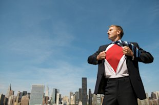 10 Overused Stock Photos I Never Want to See Again image superhero businessman