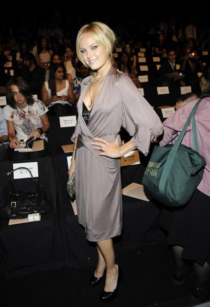 Malin Akerman in Max Azria