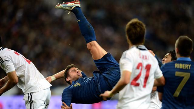 France suffer shock defeat by Japan in Paris friendly