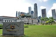 The Parliament House compound in Singapore, pictured in January 2012. The Singapore parliament has passed legal reforms abolishing mandatory death sentences in some drug trafficking and murder cases, giving fresh hope to dozens of inmates awaiting execution