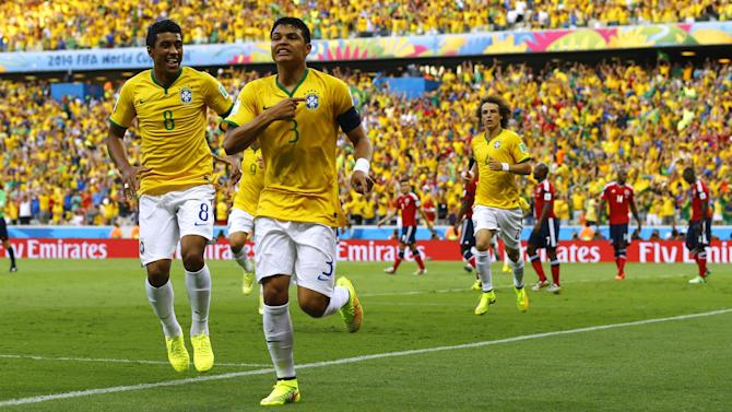World Cup - Neymar out of finals as Brazil overcome stubborn Colombia
