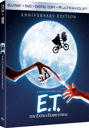 E.T. The Extra-Terrestrial Blu-ray Box Art