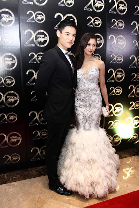 Star Magic Ball 2012's Couple of the Night Xian Lim and Kim Chiu