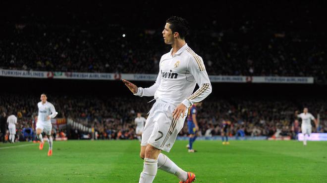 Cristiano Ronaldo Of Real Madrid CF Celebrates Getty Images
