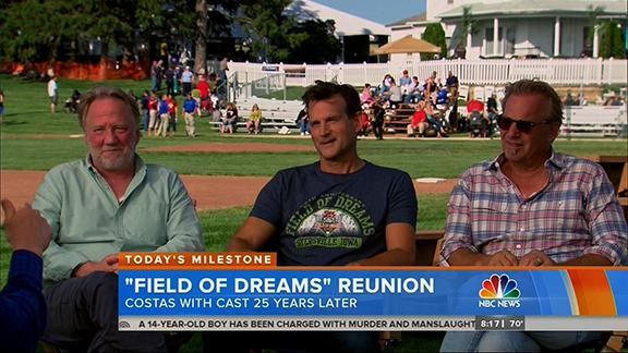 """Costner on 'Field of Dreams': """"I don't know how this film worked'"""