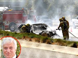 """Dick Van Dyke """"Fine"""" After Car Catches Fire: Picture"""