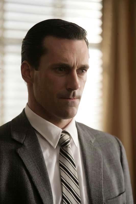 Jon Hamm plays Don Draper in Mad Men.
