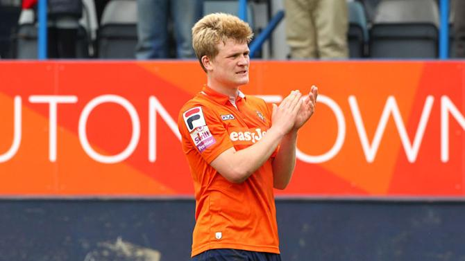 Scandalous! Stricken Luton Player Breaks His Leg & Is Rewarded for His Pain With a Booking