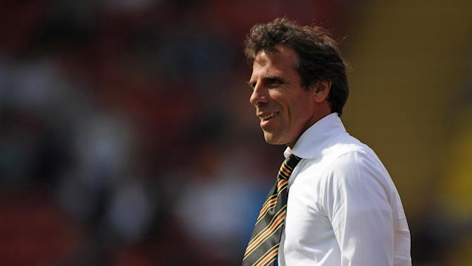 Gianfranco Zola was delighted as his new signings scored to secure victory over Crystal Palace