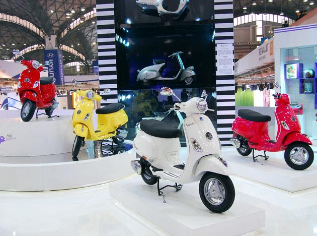 Vespa returns