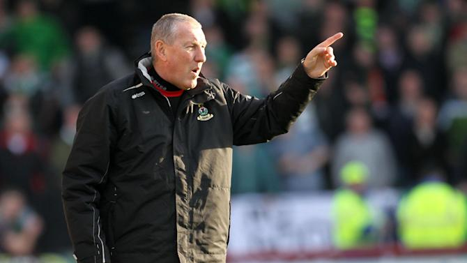 Inverness Caledonian Thistle manager Terry Butcher during Cyldesdale Bank Scottish Premier League match at Tulloch Caldeonian Stadium, Inverness. PRESS ASSOCIATION Photo. Picture date: Saturday November 19, 2011. See PA story SOCCER Inverness. Photo credit should read: Lynne Cameron/PA Wire. EDITORIAL USE ONLY