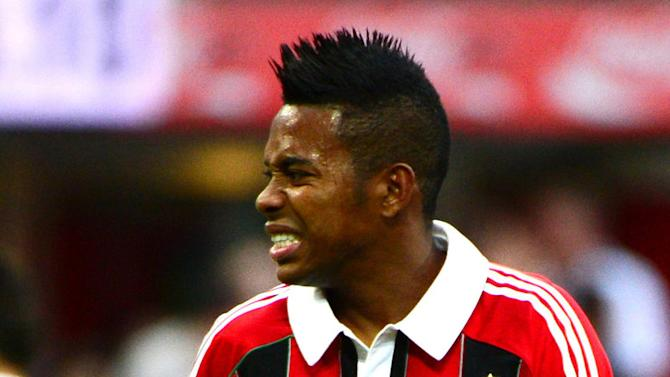 Milan plan for Robinho exit