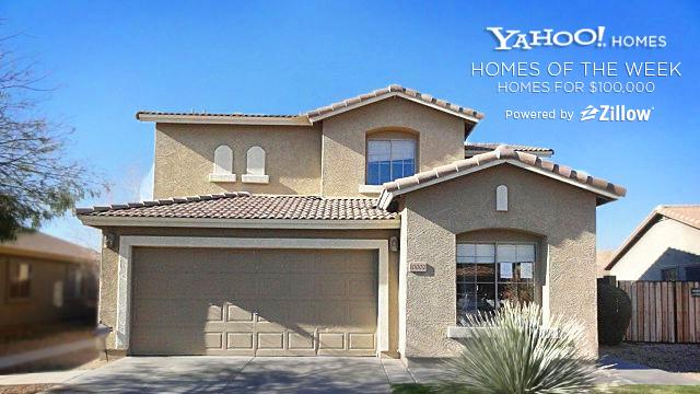 Yahoo! Homes of the Week: $100,000 homes cover hotw