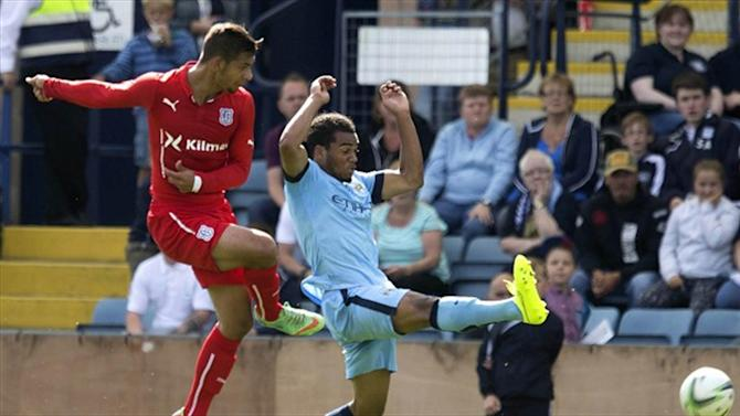 Premier League - Dundee surprise Manchester City in pre-season