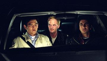 John Cho , Neil Patrick Harris and Kal Penn in New Line's Harold & Kumar Go to White Castle