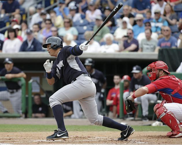 LEADING OFF: Alex Rodriguez to play first base