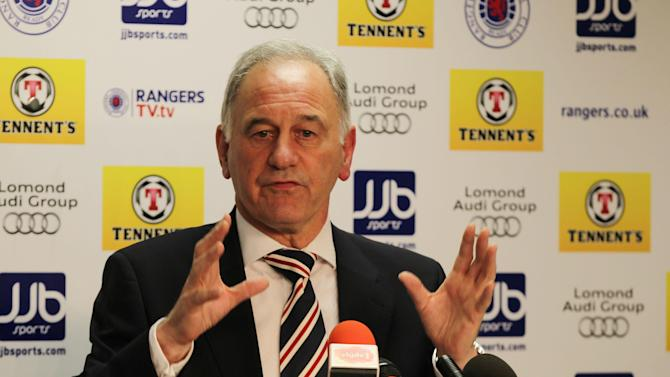 Charles Green believes players looking to leave Rangers are just after more money