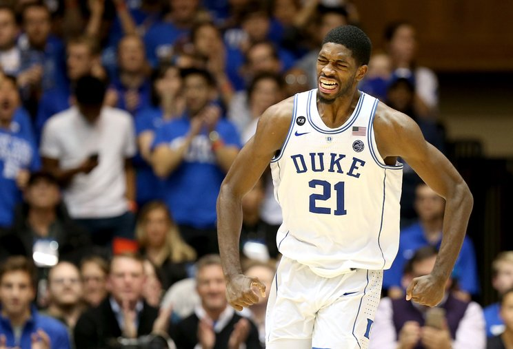 Amile Jefferson received good news when his foot injury was diagnosed as a bone bruise. (Getty Images)