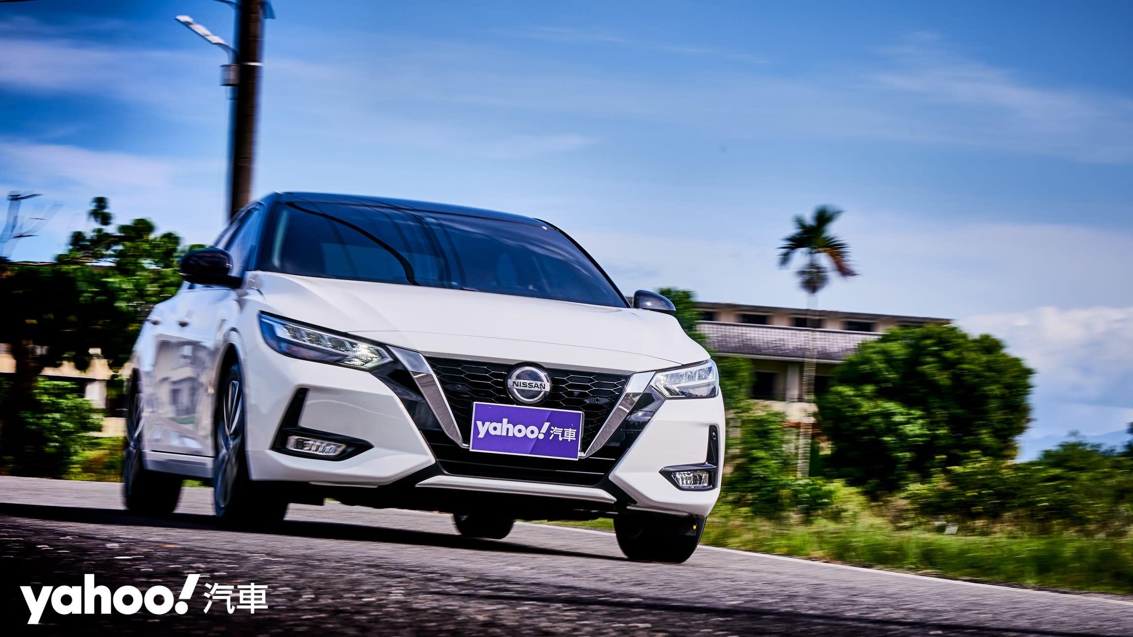 【新車圖輯】踏入型格領域!2021 Nissan大改款Sentra尊爵智駕版宜蘭郊區試駕!