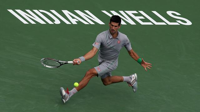 Tennis - Djokovic survives minor blip to progress at Indian Wells