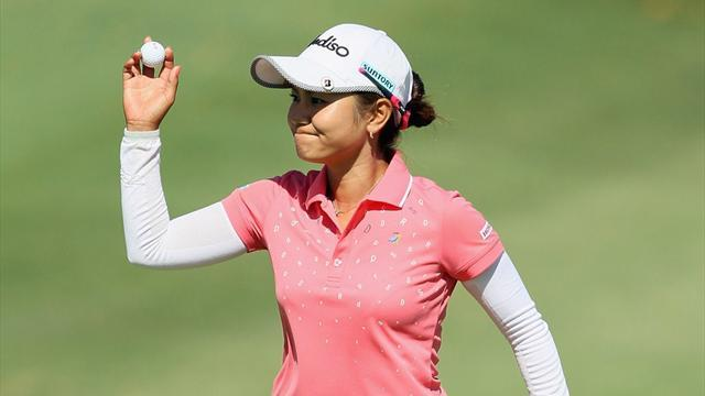 Golf - Miyazato out of HSBC Champions after car crash