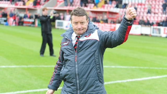 Football - Wilson lauds victorious Blades