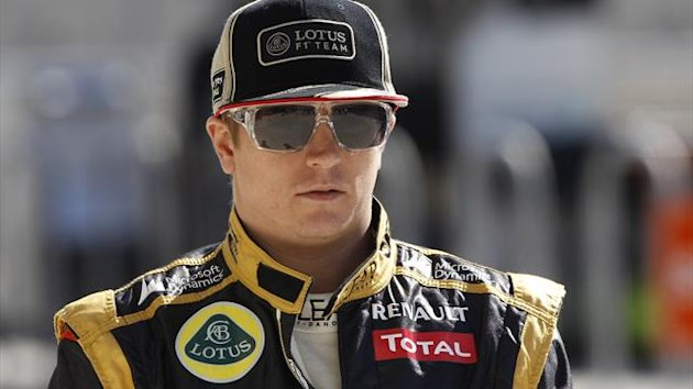 2012 United States GP Lotus Räikkönen
