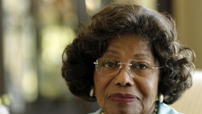 FILE - In this April 27, 2011 file photo, Katherine Jackson poses for a portrait in Calabasas, Calif. Opening statements are scheduled to begin Monday April 29, 2013, in Jackson's lawsuit against concert giant AEG Live over her son Michael's 2009 death. Katherine Jackson claims the company failed to properly investigate the doctor who was convicted in 2011 of involuntary manslaughter for the singer's death, but the company denies all wrongdoing. (AP Photo/Matt Sayles, File)
