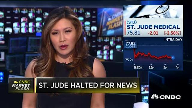 St. Jude halted for news