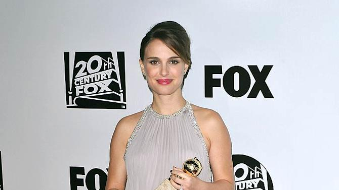 Natalie Portman GG After Prty