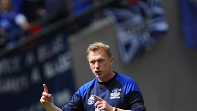 Everton manager David Moyes feels a top-four finish may not be out of reach